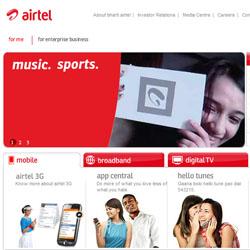 airtel flipped logo