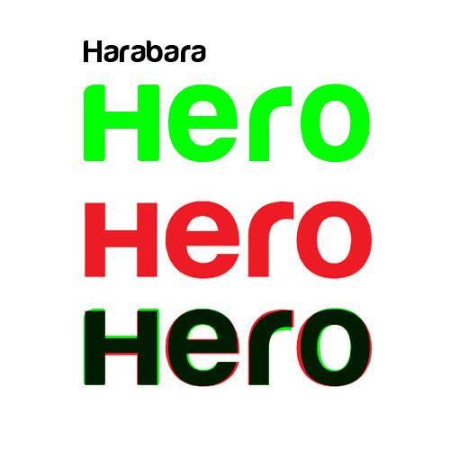 harabara-hero-font