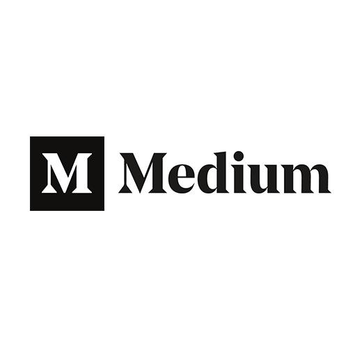 Medium logo 2017 August designed by Manual