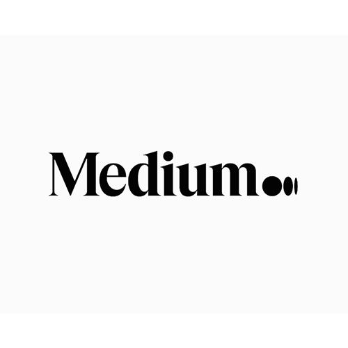 Medium ellipsis logo by AnasKA